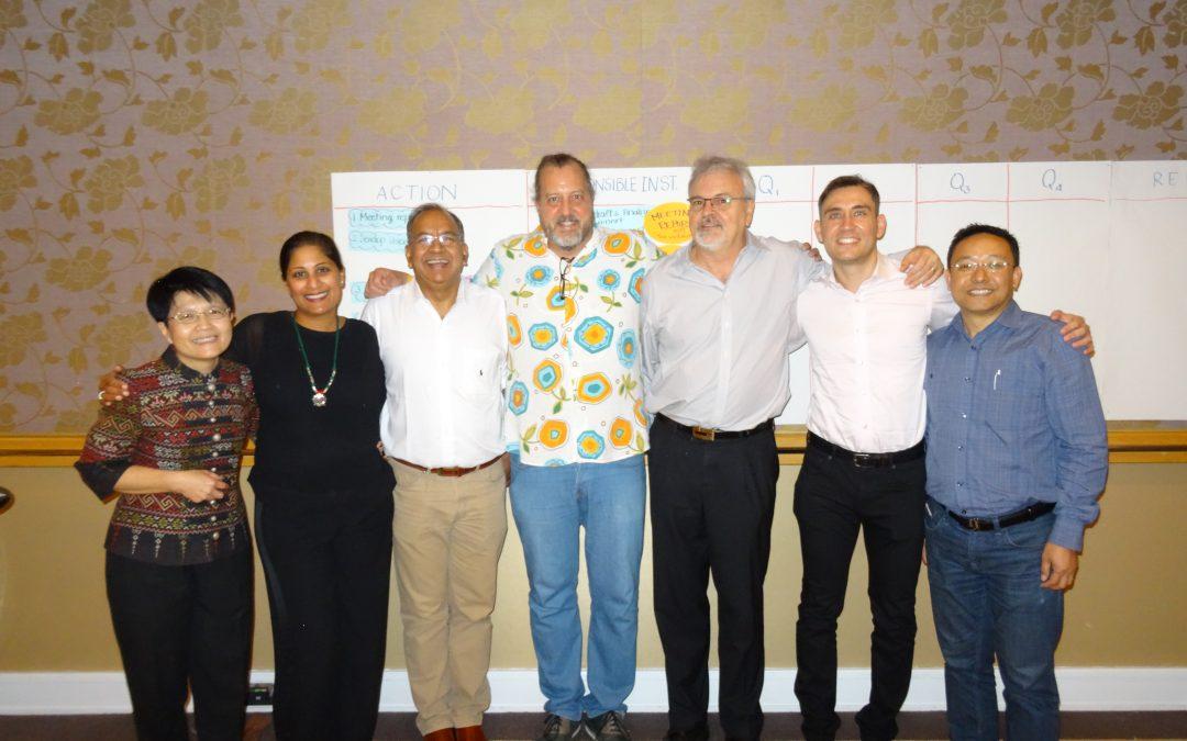 SAOH Establishment Workshop, Bangkok, December, 2017