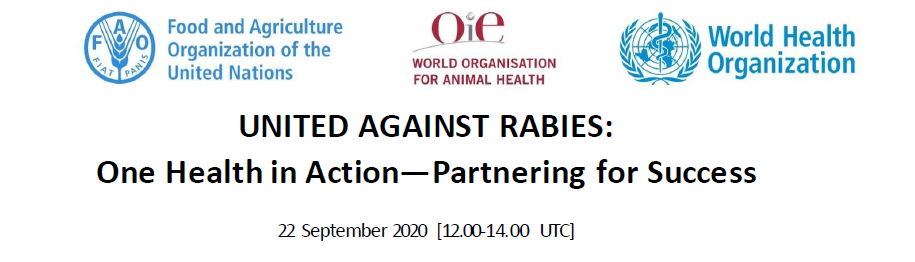 UNITED AGAINST RABIES: One Health in Action- Partnering for Success