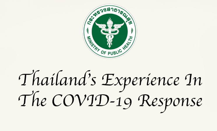 Thailand's Experience in the COVID-19 Response